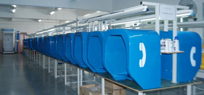 -25dB Public Phone Booth Industrial Telephone Booths With Custom Color