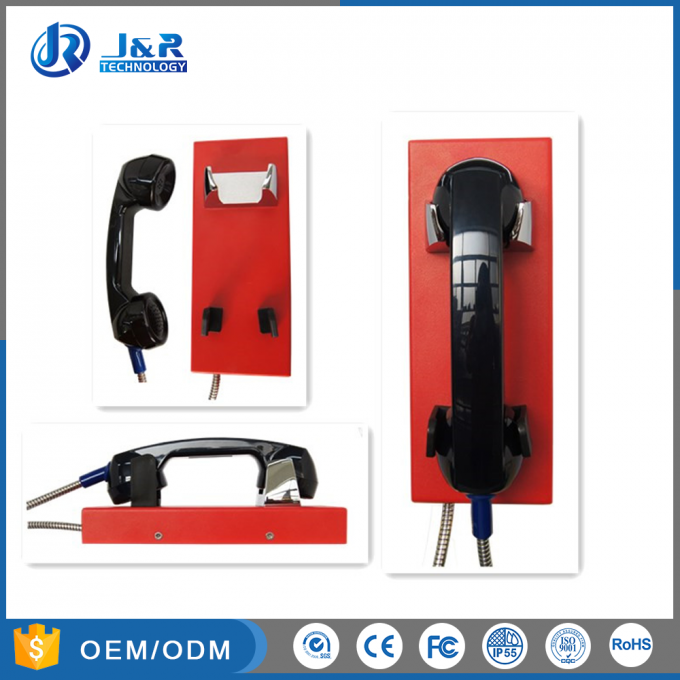 GSM/3G Outdoor Public Help Wall Mounted Telephones , Industrial Analog Phones