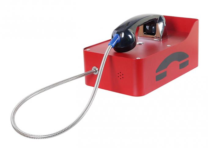 Corded Rugged Public Safetyauto Dial Emergency Phone For Highway Roadside Swimming Pool