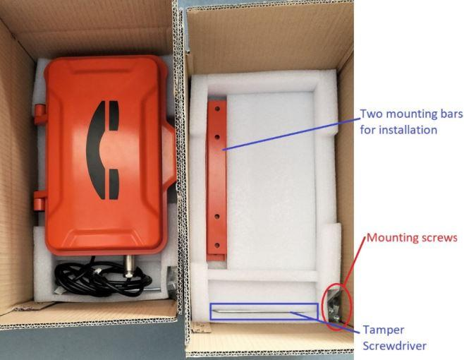 Explosion-proof VoIP Phone, ExResistTel Explosion Proof Phone