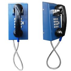 Rugged Inmate Phone / Prison Visitation Phone With Volume Control Button