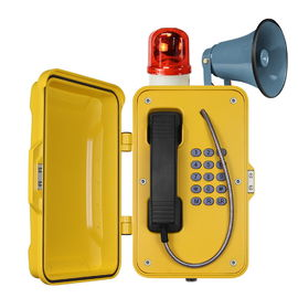 Waterproof Industrial VoIP Phone , Reliable Vandal Proof Heavy Duty Telephone