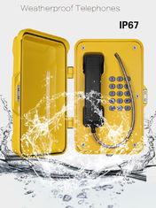 China Anti Vandal Industrial Weatherproof Telephone supplier