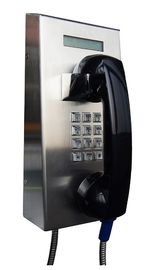 China IP65 Vandal Resistant Telephone Stainless Steel Robust Housing For Tunnel Control Room supplier