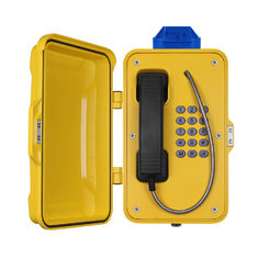 China IP67 Industrial Weatherproof Telephone With Beacon , PoE Powered Tunnel Phone supplier