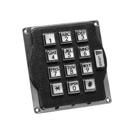 China Anti Corrosion Metal Keypad With Volume Control supplier