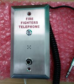 China Weatherproof Industrial Analog Telephone , Fire Fighting Telephone System  supplier