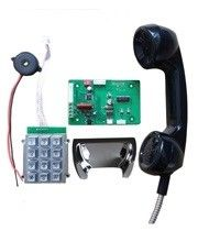 China Industrial Analog Telephone Circuit Board with Keypad and Handset supplier