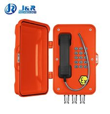 Rugged Industrial Explosion Proof Telephone For Hazardous Areas / Power Station