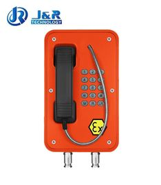 Vandal Resistant Industrial Explosion Proof Telephone For Zone 1 / Zone 2