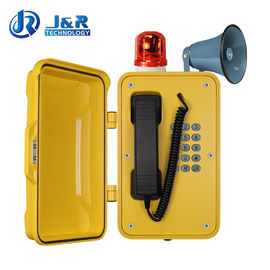 China Wall / Pillar Mounting Industrial SIP Phone With Flashing Lamp And Horn supplier
