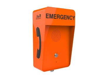China Outdoor Weatherproof VoIP Emergency Call Box , Anti-vandal SIP Telephone supplier