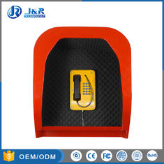 China -25dB Public Phone Booth Industrial Telephone Booths With Custom Color supplier