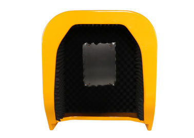 Wall Mounting Acoustic Phone Booth Telephone Hood Fiberglass Reinforced Polyester Material