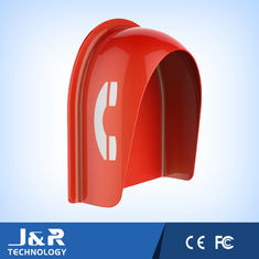 China Fiberglass Reinforced Polyester Acoustic Phone Booth Pillar Dust Proof For Streets supplier