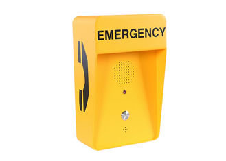 Outdoor Speed Dial Hotline SOS Emergency Phone , Highway Emergency Phone IP66
