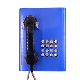 Public Server Vandal Resistant Telephone Rugged Inmate With Volume Control Button