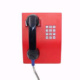 China Rugged ATM Bank Vandal Proof Telephone Emergency IP Public Phone 2 Years Warranty supplier