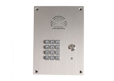 China Cordless Emergency Elevator Telephone Stainless Steel Hands Free Intercom supplier