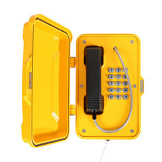 China SIP/VoIP/Analog Moisture Resistant Marine Weatherproof Telephone with Full Keypad supplier