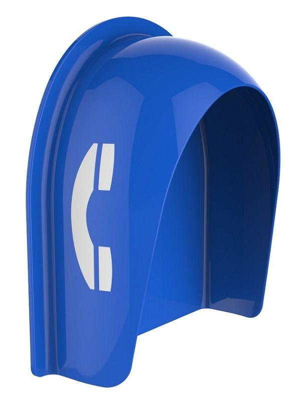 Vandal Resistant Telephone Booth, Acoustic Telephone Hoods