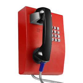China Vandal Resistant Hospital Telephone with Rugged Handset and Metal Keypad factory