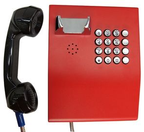 China Robust Vandal Resistant Telephone , Emergency Voip Phone For Bank / ATM Service factory