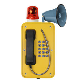 China Industrial Broadcast Telephone For Emergency , Weatherproof SOS Intercom With Horn factory