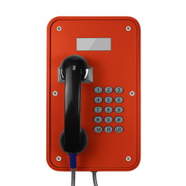 China Vandal Resistant Industrial VoIP Phone Weatherproof With LCD Display Screens factory