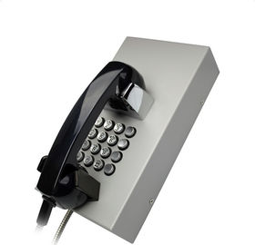 China IP65 Public Areas Vandal Resistant Telephone With 16 keys Metal Keypad factory