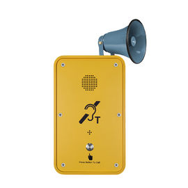 China Weatherproof GSM / 3G Broadcast Telephone For Noisy Industry distributor