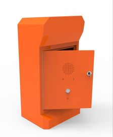 China SOS Hands Free Emergency VoIP phone Pillar Mounting For Tunnels / Parking Lots factory