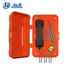China Rugged Industrial Explosion Proof Telephone For Hazardous Areas / Power Station factory