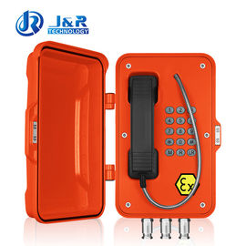 China Hazardous Areas ATEX Explosion - proof Telephone for Zone 1 & 2 area factory