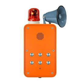China Weatherproof Hands Free Telephone with Flashing Beacon and Metal Loudspeaker distributor