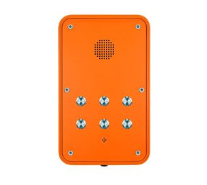 China Impact Resistant Hands Free Industrial VoIP Phone with Speed Dial Buttons distributor