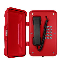 China Moisture Resistant Industrial Weatherproof Telephone with Rugged Handset factory