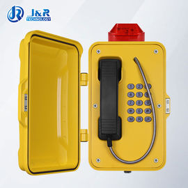 China IP67 weatherproof telephone box / Railways Tunnel Emergency Telephone with LED light factory