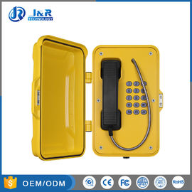 China VOIP / SIP Outdoor Emergency Telephone , Vandal Proof Telephone IP67 Waterproof distributor