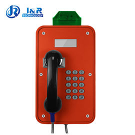 China Tunnels Outdoor Weatherproof Telephones / Industrial Analog Telephone With LCD Display factory