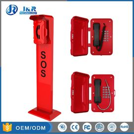 China Aluminum Alloy Roadside Emergency Phone For Roadside , Campus , School factory