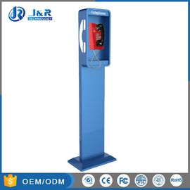 China Vandal Resistant Highway Emergency Phone Pillar , Roadside Phone Protection Pillar factory