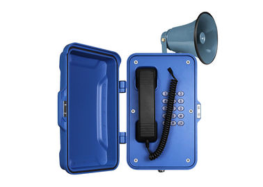 China Broadcast  Public Address Weatherproof Emergency Telephone With Loudspeaker distributor