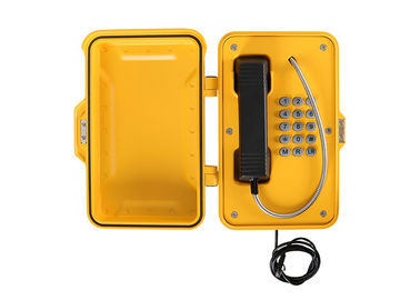 China Aluminum Enclosure Outdoor Weatherproof Telephones With Tamper Resistant Fixings factory