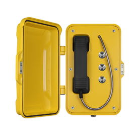 China Three Button Outdoor Weatherproof Emergency Phone With Speed Dial Function factory