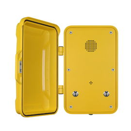 China Public IP68 Industrial Weatherproof Telephone With Cast Aluminum Enclosure factory