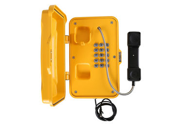 China SIP IP67 Industrial Waterproof Emergency Phone Pillar Mounting Simple Installation For Tunnel factory