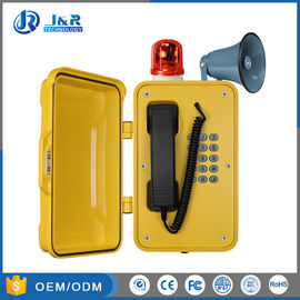 China SIP Heavy Duty Telephone Multi Function With Beacon And Horn Outdoor factory