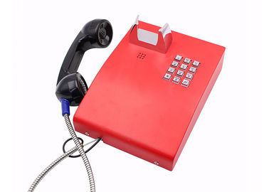 China Analogue Jail Telephone IP65 Weatherproof Color Optional With Metal Enclosure factory