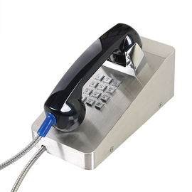 China Jail VoIP Iauto Dial Emergency Phone , Stainless Steel Corded Wall Phone IP54-IP65 factory